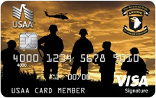 USAA Military Affiliate Visa Signature® Card
