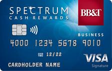 BB&T Spectrum Cash Rewards for Business Credit Card