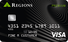Regions Premium Visa® Signature Credit Card