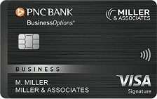 PNC BusinessOptions® Visa Signature® Credit Card