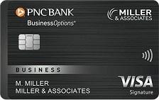 PNC BusinessOptions® Visa Signature® Credit Card