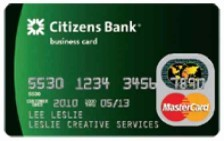 Citizens Bank Business Platinum Mastercard®