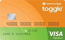 Commerce Bank toggle® Card