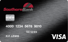 Southern Bank Visa® Platinum Credit Card