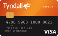 Tyndall Everyday Rewards Card