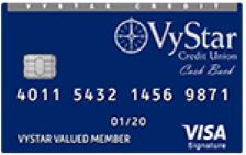 VyStar Visa Signature Cash Back Card