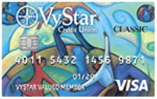 VyStar Savings Secured Visa Card