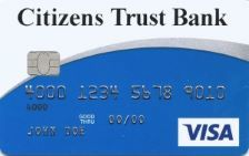 Citizens Trust Bank VISA Classic Secured Credit Card