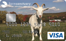 Farm Sanctuary Visa® Credit Card
