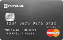 Popular Bank Preferred World Mastercard®