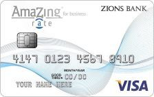 Zions Bank AmaZing Rate for Business Credit Card