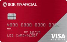 BOK Financial Visa® Business Real Rewards Card