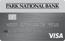 Park National Bank Visa® Platinum Card