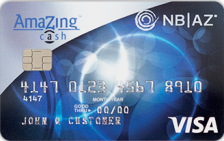 National Bank of Arizona AmaZing Cash® Credit Card