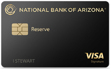 National Bank of Arizona Reserve Credit Card