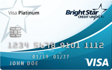 BrightStar Credit Union Visa Platinum Card