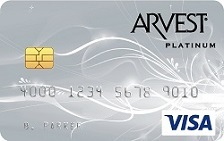Arvest Bank Visa® Platinum Card