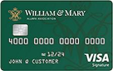 William & Mary Alumni Association Visa® Signature Card