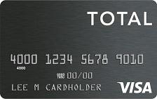 Total Visa® Unsecured Credit Card
