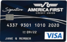 America First Credit Union Visa Signature Cash Back Credit Card