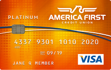 America First Credit Union Visa Classic Credit Card