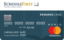 SchoolsFirst FCU Rewards Mastercard® Credit Card