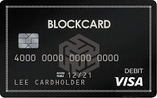 BlockCard Prepaid Visa® Card