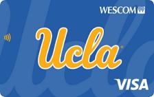 Wescom Bruin Edge Visa® Credit Card