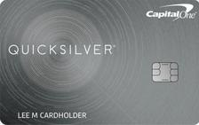 Capital One® Quicksilver® Rewards for Students Card