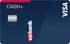 U.S. Bank Cash+® Visa® Secured Card